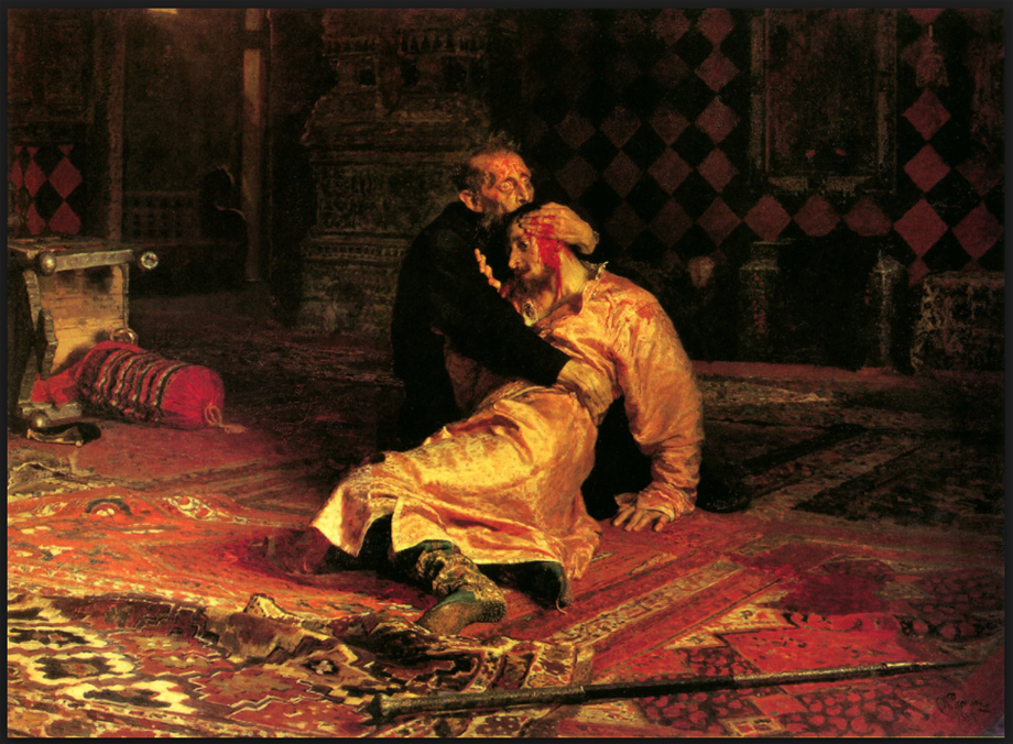 Ivan The Terrible and his Son