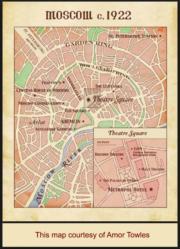 Moscow Map 1922
